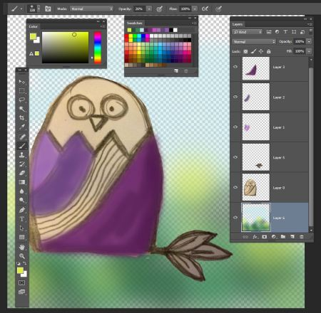 owl_Photoshop_Software